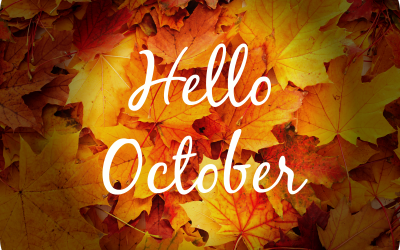 What's Coming Up – October